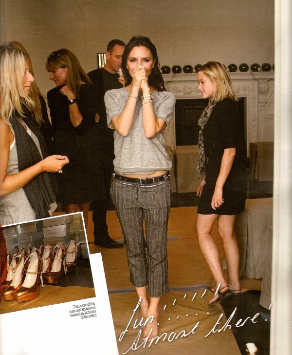 Le journal de Victoria Beckham à la Fashion Week de New York publié par Grazia !