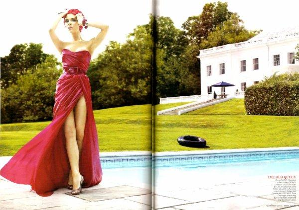Victoria Beckham en couverture du Marie Claire américain en novembre !