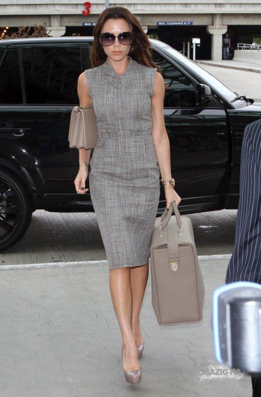 Victoria Beckham en voyage à Londres !