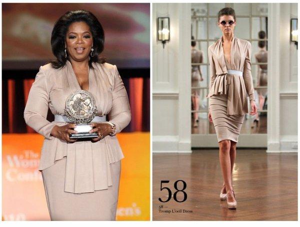 Oprah Winfrey habillée par Victoria Beckham !