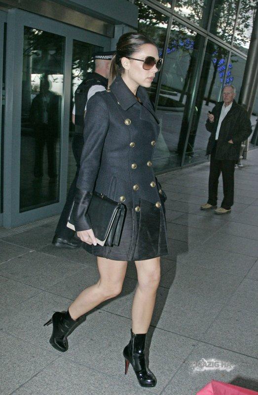 Victoria Beckham à Londres pour créer sa nouvelle collection