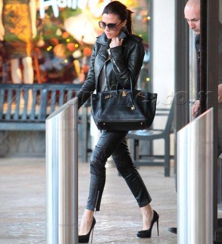 Victoria Beckham passe le weekend de Thanksgiving à Las Vegas !