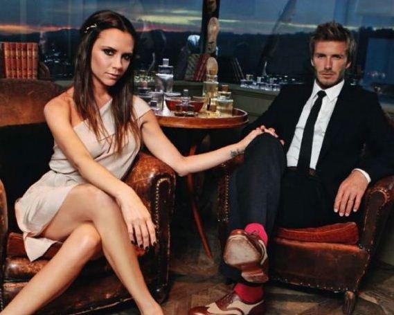 David & Victoria Beckham en interview dans le magazine InStyle