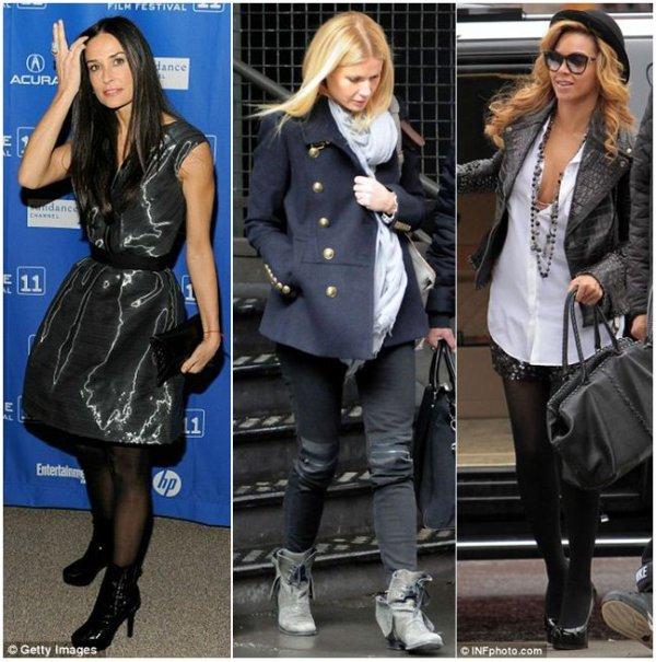 Demi Moore, Gwyneth Paltrow et Beyoncé, toutes fans de Victoria Beckham
