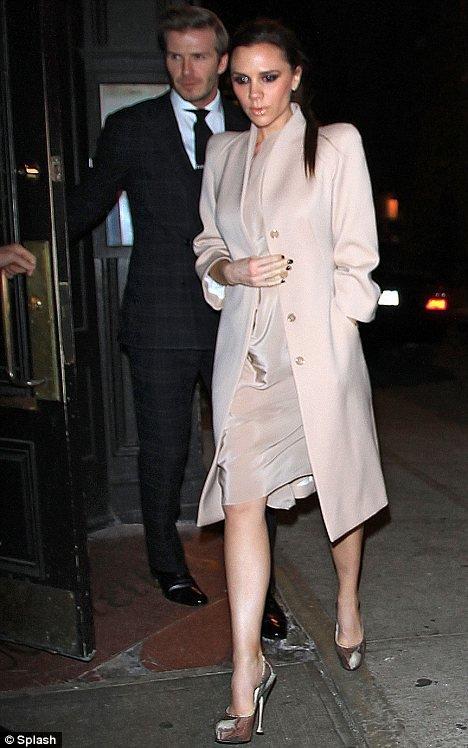 David & Victoria Beckham en amoureux pour la St Valentin