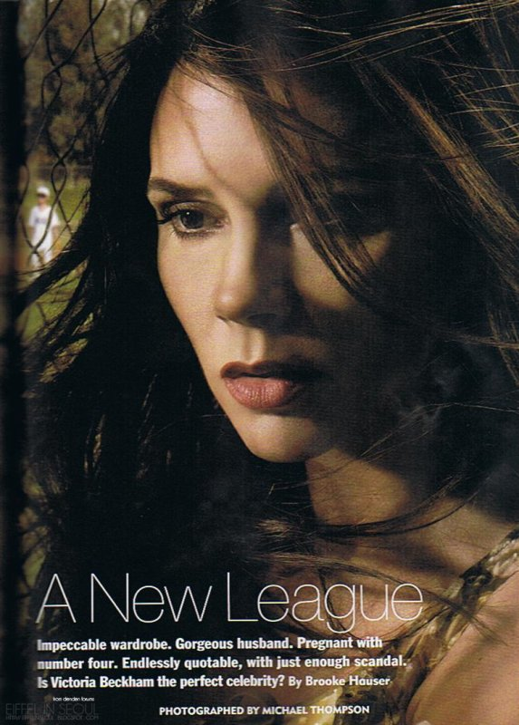 Victoria Beckham fait la couverture du magazine ALLURE pour son 20ème anniversaire !