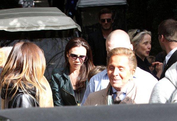 La famille Beckham au lancement des Oscars
