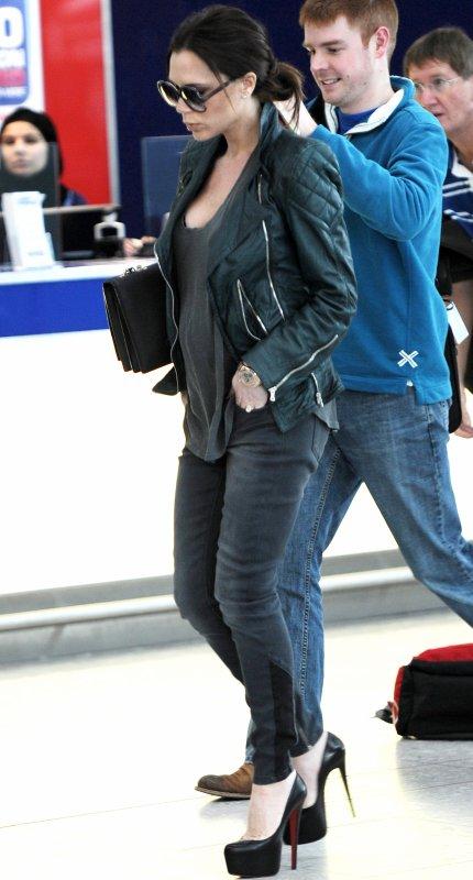 Victoria rentre à Los Angeles après l'annonce de David