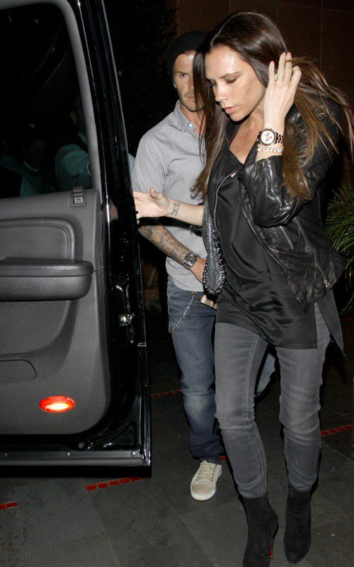 David & Victoria Beckham - Los Angeles - 06.04.2011