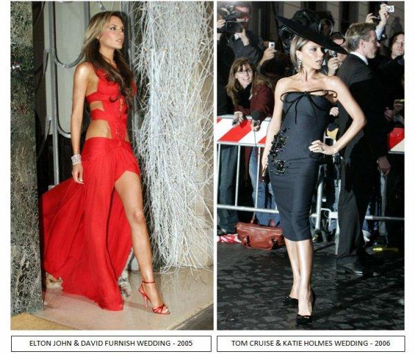 Comment imaginez vous Victoria Beckham au mariage Royal demain ?