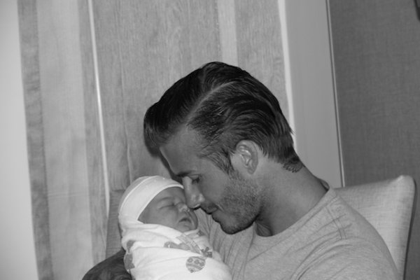 Premières photos de Harper Seven Beckham