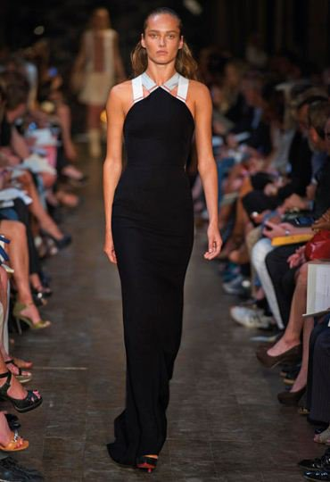NEW YORK FASHION WEEK - VICTORIA BECKHAM COLLECTION SS2012