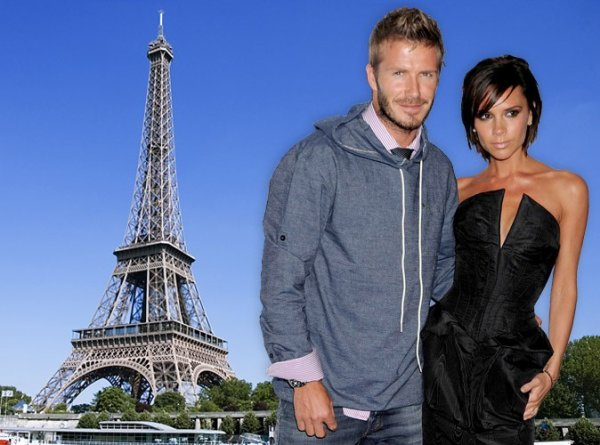 LES BECKHAM ATTENDUS A PARIS CE WEEKEND !