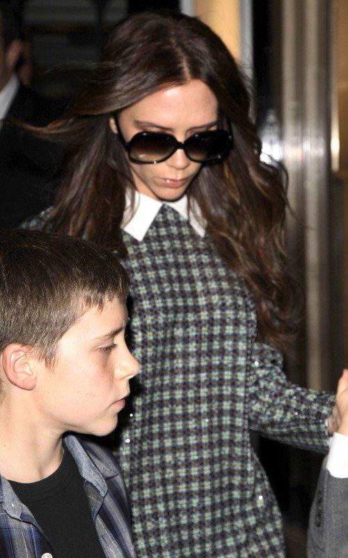 La famille Beckham est passée à 2012 à Londres !
