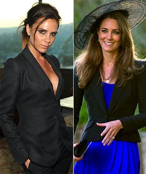 KATE MIDDLETON : FAN DE VICTORIA BECKHAM ?