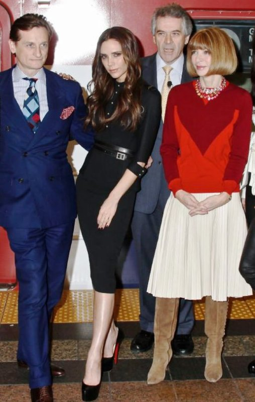 VICTORIA BECKHAM - GREAT CAMPAIGN LAUNCH - NYC - 15.02.2012