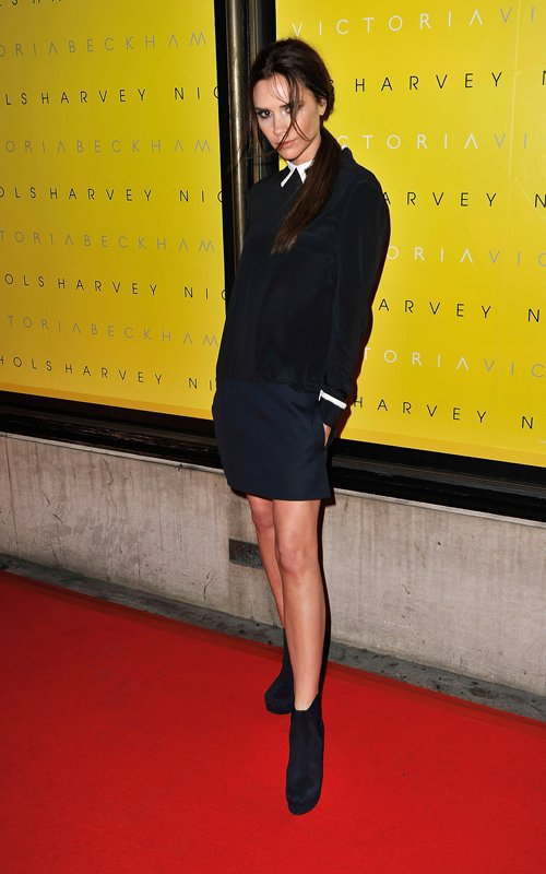 VICTORIA BECKHAM - VICTORIA COLLECTION SS12 LAUCH - HARVEY NICHOLS - LONDON - 17.02.2012