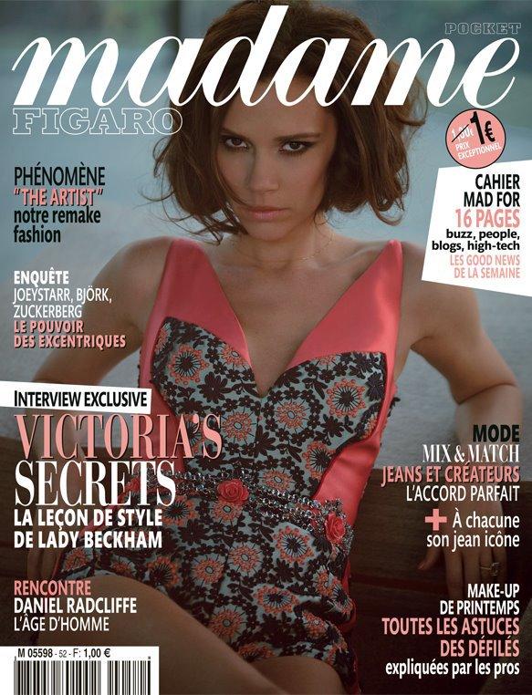 VICTORIA BECKHAM - MADAME FIGARO - N°52 - 24.02.2012