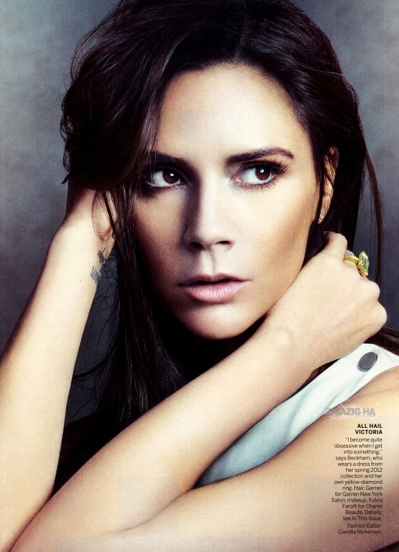 VICTORIA BECKHAM VOGUE US AVRIL 2012
