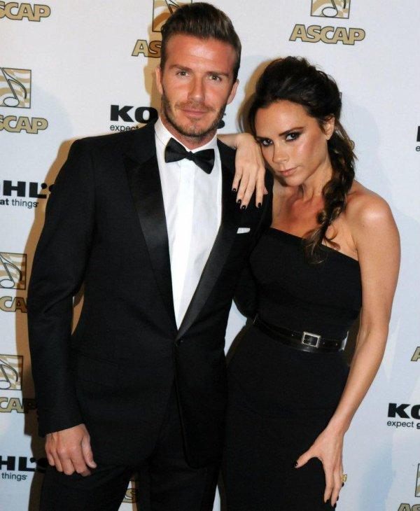 David & Victoria Beckham - ASCAP Awards 2012 - 19.03.2012