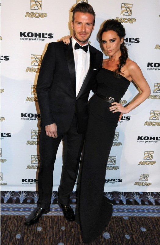 David & Victoria Beckham - ASCAP Awards 2012 - 19.03.2012