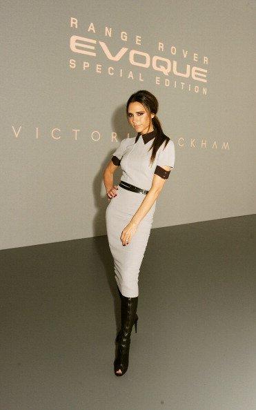 Victoria Beckham lance son édition spéciale de la Range Rover Evoque à Pékin