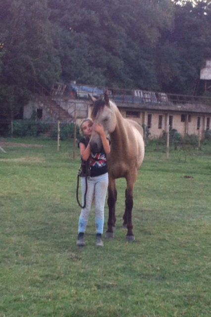 Toscan et moi !!