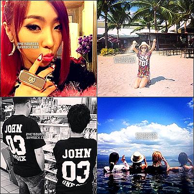 . 22/05/14: Mises a jours des photos personnelles des filles sur Instagram! .