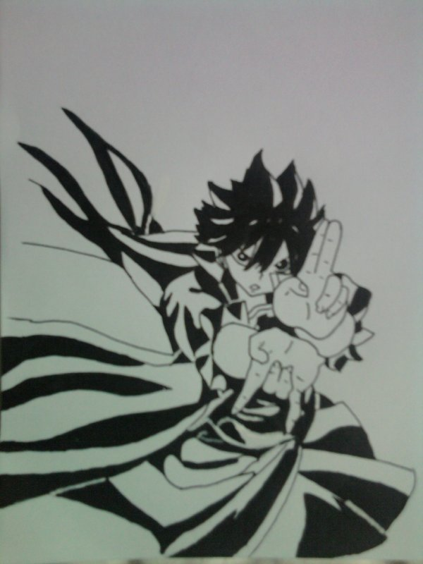 Zeref => Fairy tail.