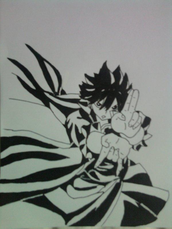 Zeref => Fairy tail.
