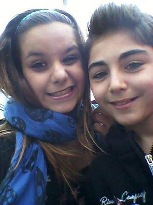 Avec Mélanie <3