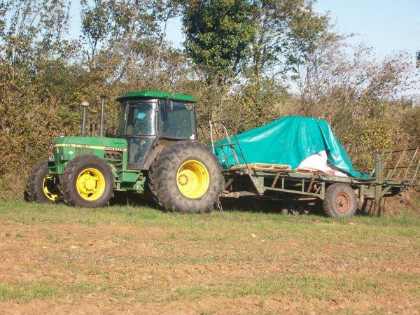 Préparation de terre