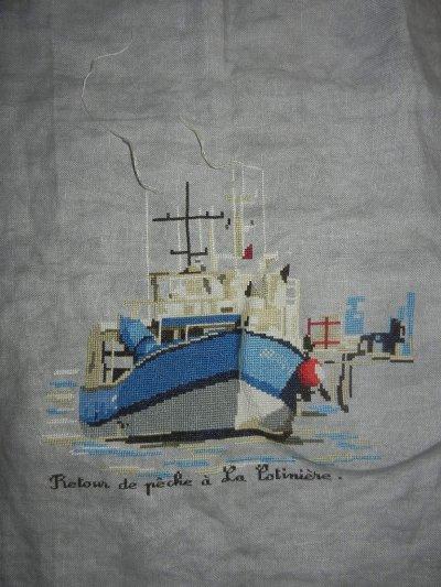 Mon bateau...