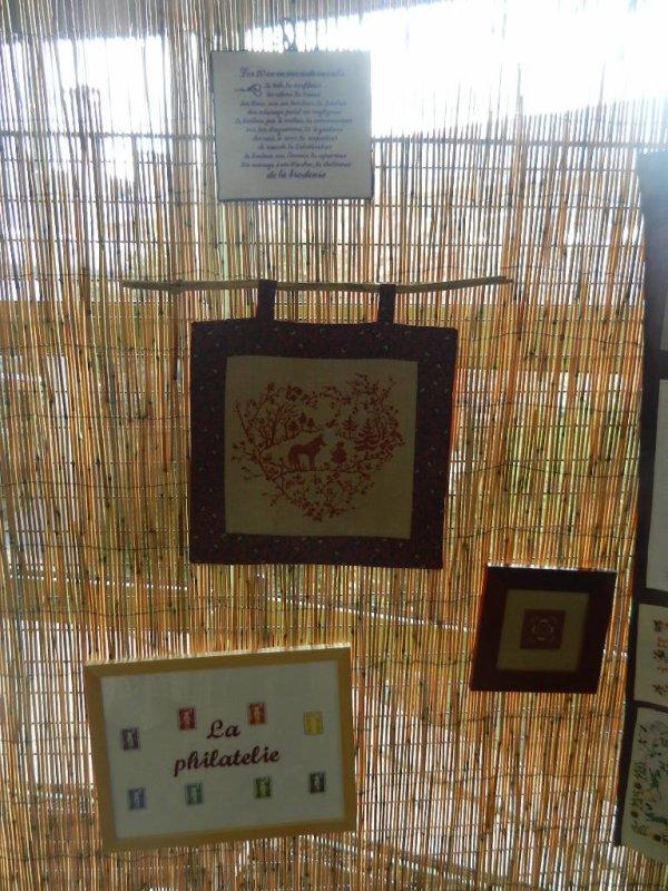 Exposition du club de Broderie de Sceaux  (92)  Fin