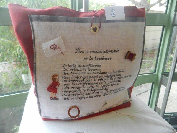Exposition du club de Broderie de Sceaux  (92) suite
