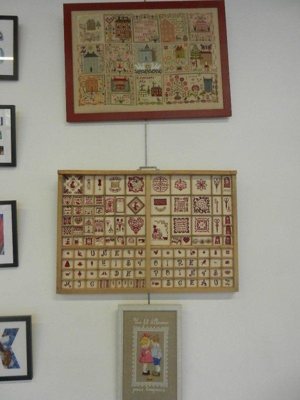 Exposition du club de Broderie de Sceaux  (92)
