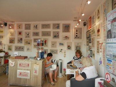 Une visite sur l'île d'Oléron ... chez Isabelle Vautier... :-)