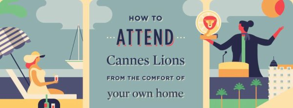 If you're not attending #CannesLions this year, there are ways of keeping up