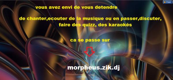 venez sur morpheus.zik.dj