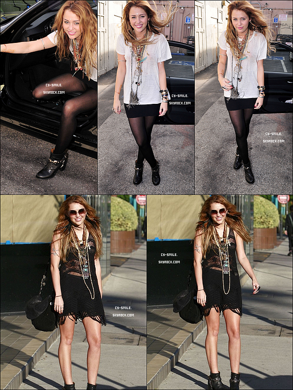 25/10 & 26/10 : Miley dans les rues de Los Angeles
