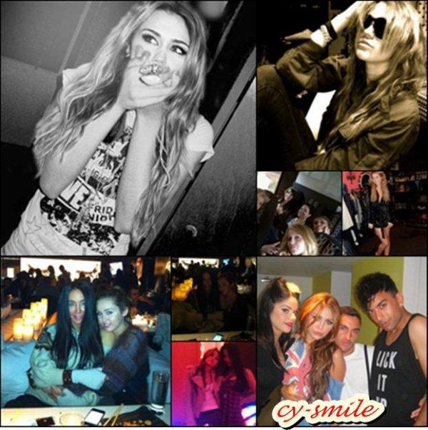 Découvrez de nouvelles photos personnelles, plus une nouvelle photo de Miley & Max Azria.