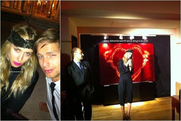 Premières photos de Gillian à Cannes !