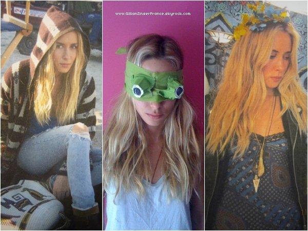 En attendant les news, 3 nouvelles photos perso de Gillian !