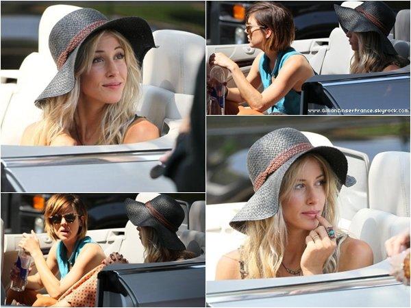 11 et 12 juillet : Gillian sur le tournage de 90210.