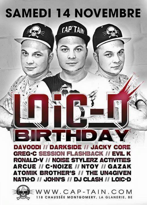 LOIC-D BIRTHDAY