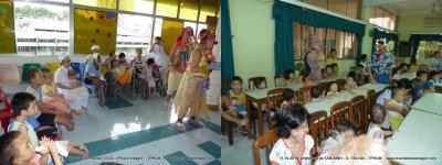 Des Clowns dans les hôpitaux et orphelinats au Vietnam.