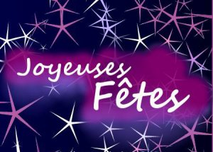 BONNES FÊTES DE FIN D'ANNÉE !!!  et...  Suite...