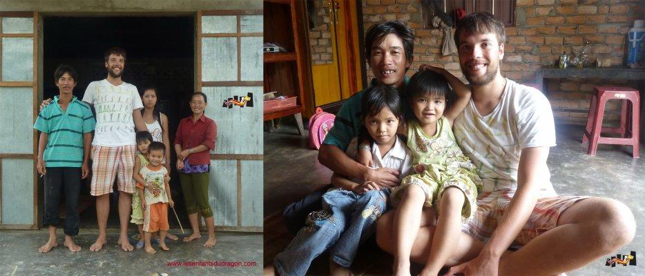 Retour d'un volontaire à Phú An (Mission 2008)