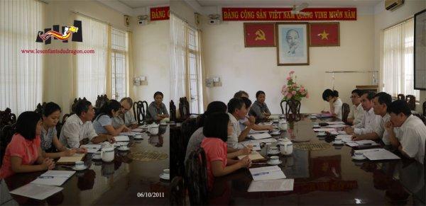 Sortie de groupe à Xã Gia Canh