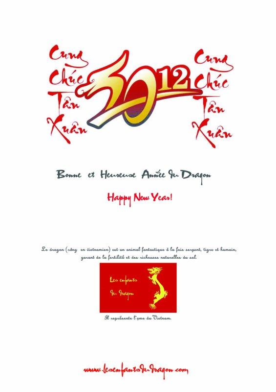 Bonne Année du Dragon !!!